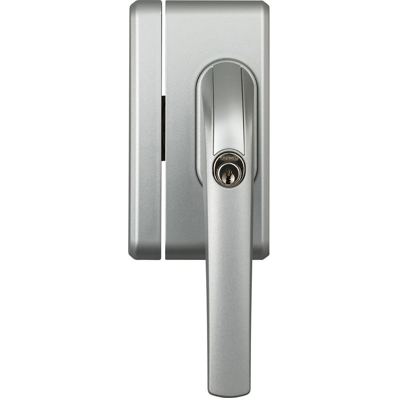 Abus Abschließbarer Fenstergriff FO400N AL0125 Silber | Baumarkt > Modernisieren und Baün > Fenster | Silberfarben | Abus