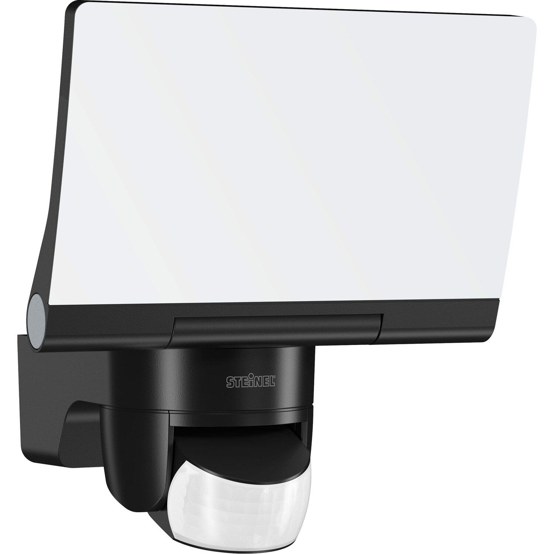 Steinel LED Strahler EKK: A - A++ mit Bewegungsm. XLED home 2 Schwarz SmartHome