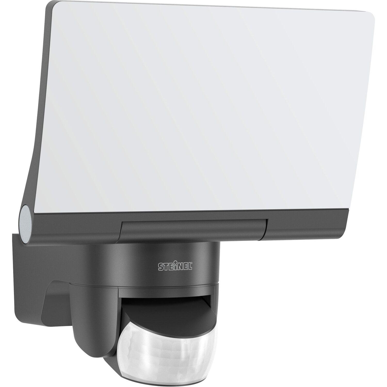 Steinel LED Strahler EKK: A - A++ mit Bewegungsm. XLED 2 Graphit für SmartHome