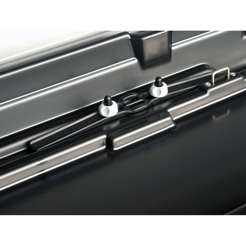 kamei auto dachbox delphin 470 l schwarz matt 230 x 75 x. Black Bedroom Furniture Sets. Home Design Ideas
