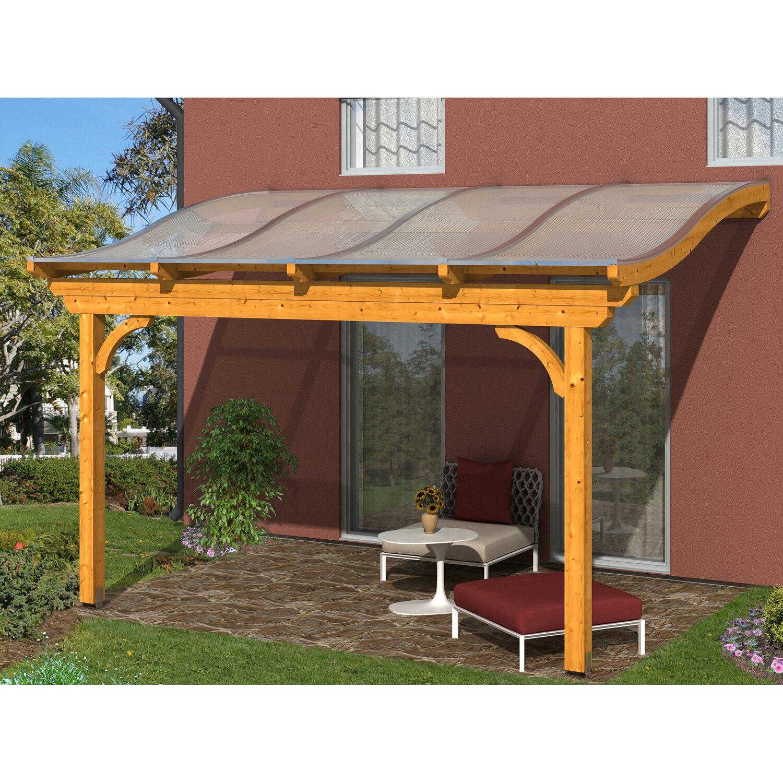 skan holz terrassen berdachung verona 434 x 339 cm leimholz eiche hell kaufen bei obi. Black Bedroom Furniture Sets. Home Design Ideas
