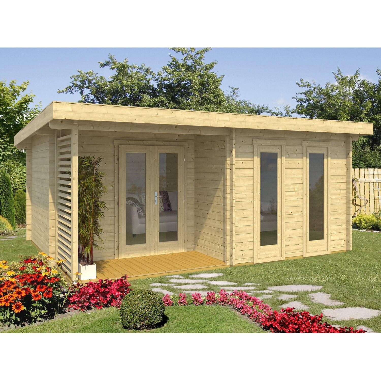 Holz Gartenhaus Biel B X T 520 Cm X 400 Cm