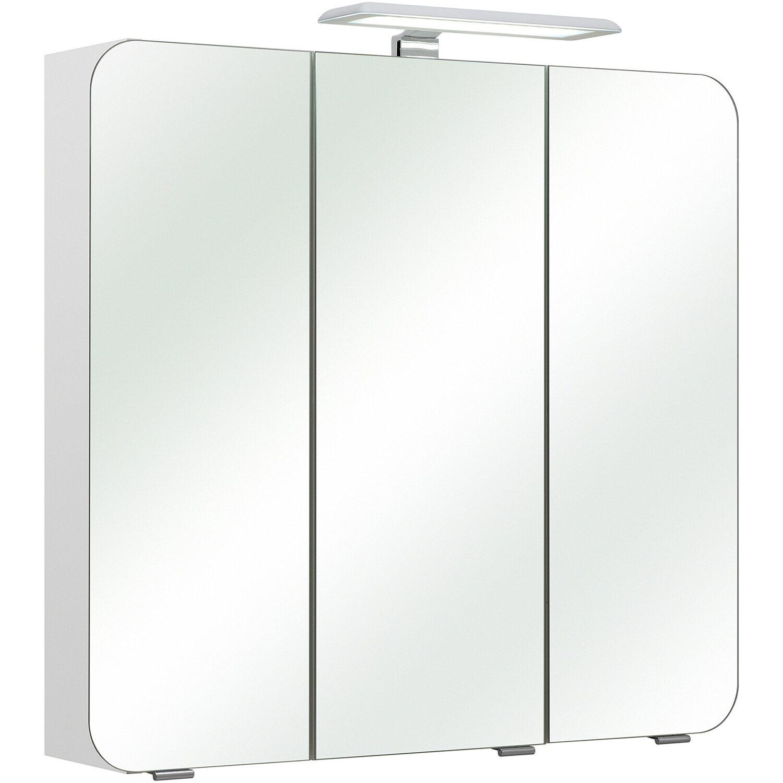 Pelipal Spiegelschrank Sophie I 75 cm x 70 cm x 20 cm Weiß EEK: A++ | Bad > Badmöbel > Spiegelschränke fürs Bad | Pelipal