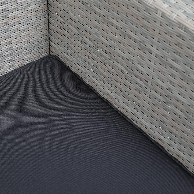 Gartenlounge rattan mit dach  Greemotion Garten-Lounge Set Kiel Polyrattan Beige 4-teilig kaufen ...