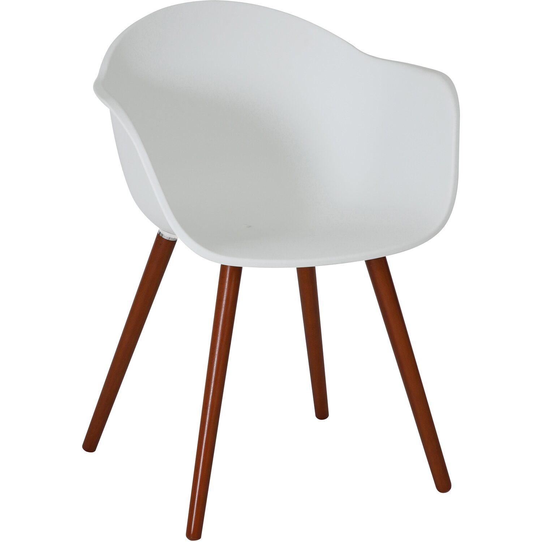 Gartenstühle kunststoff  Greemotion Design-Gartenstuhl Derby Kunststoff Weiß kaufen bei OBI