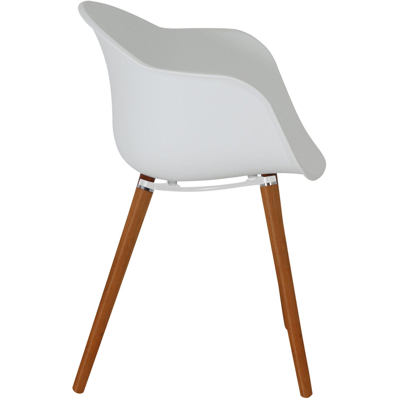 Gartenstuhl design  Greemotion Design-Gartenstuhl Derby Kunststoff Weiß kaufen bei OBI