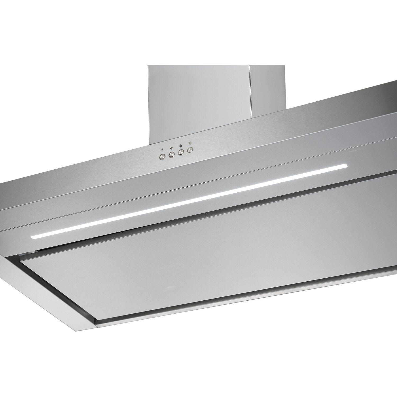 PKM T1-60A++IXEZ Wandhaube 60 cm LED-Beleuchtung Randabsaugung Edelstahl