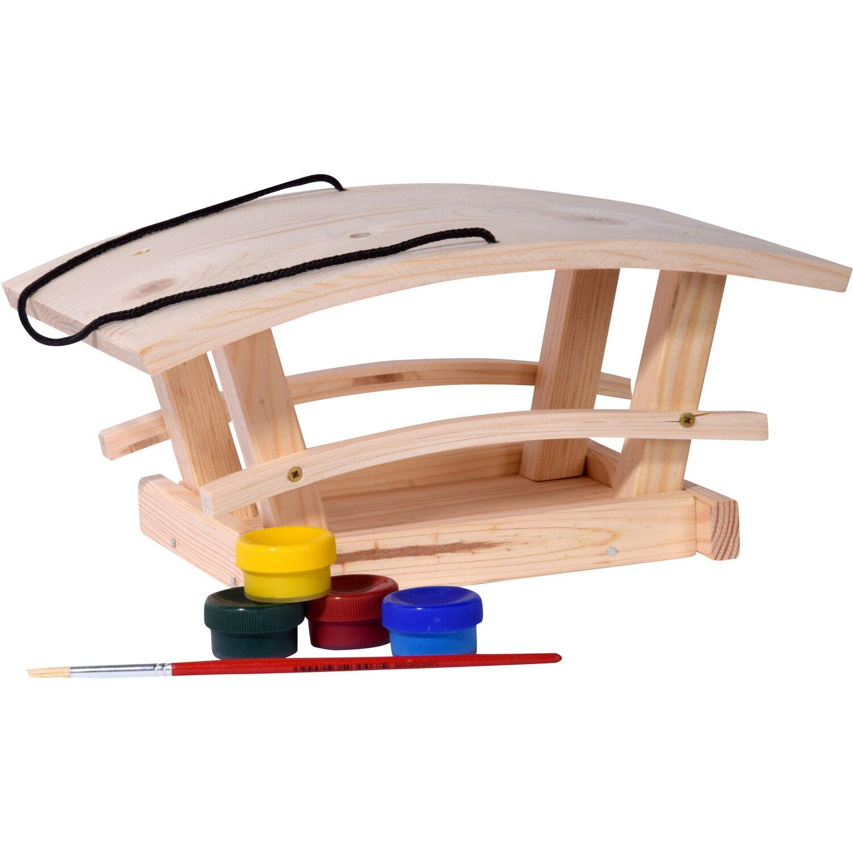 Dobar Vogelhaus-Bausatz für Kinder 29 x 18 x 14 cm