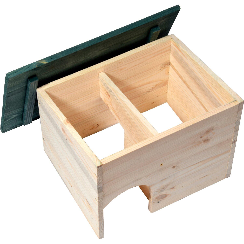 dobar igelhaus bausatz mit schleuse 34 5 x 24 x 27 cm. Black Bedroom Furniture Sets. Home Design Ideas