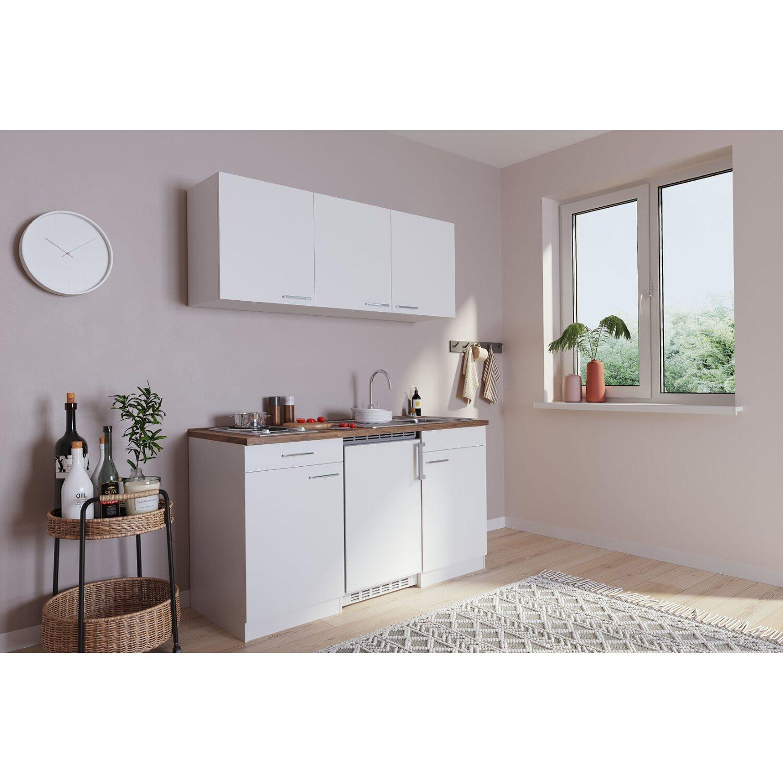 Hervorragend Respekta Küchenzeile KB150WW 150 cm Weiß kaufen bei OBI UL13