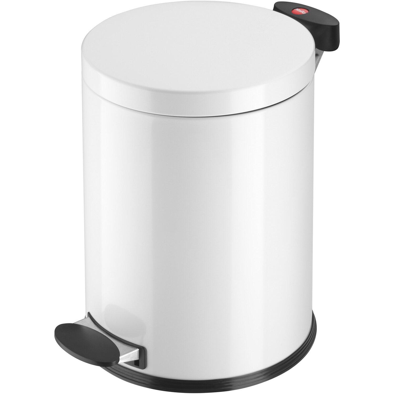 Hailo Tret-Mülleimer Cleanline TX M Weiß 11 l