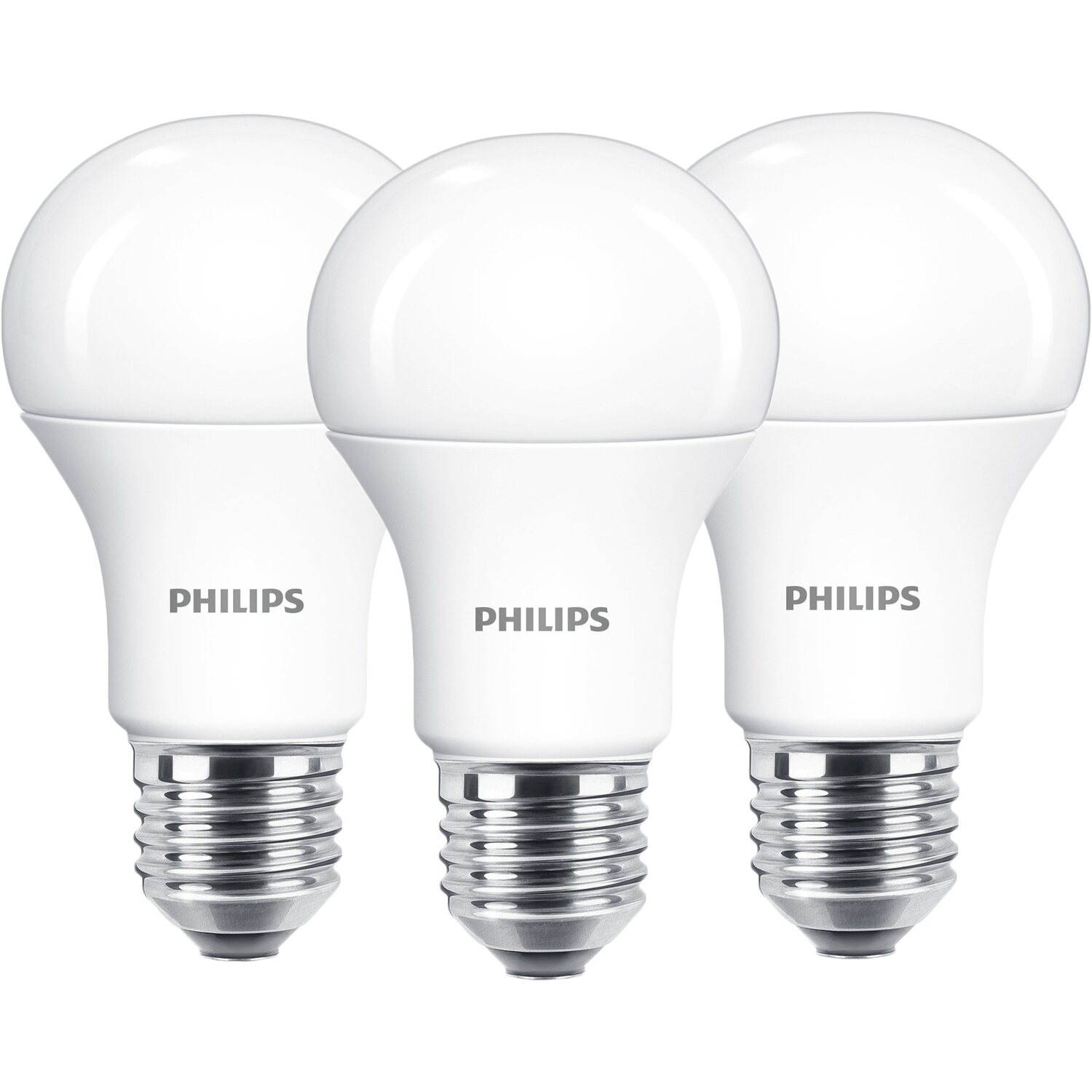 philips led leuchtmittel gl hlampenform e27 13 w 1521 lm warm 3er pack eek a kaufen bei obi. Black Bedroom Furniture Sets. Home Design Ideas