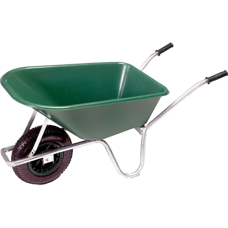 pro bau tec Garten- & Bauschubkarre 100 l 120 kg Tragkraft