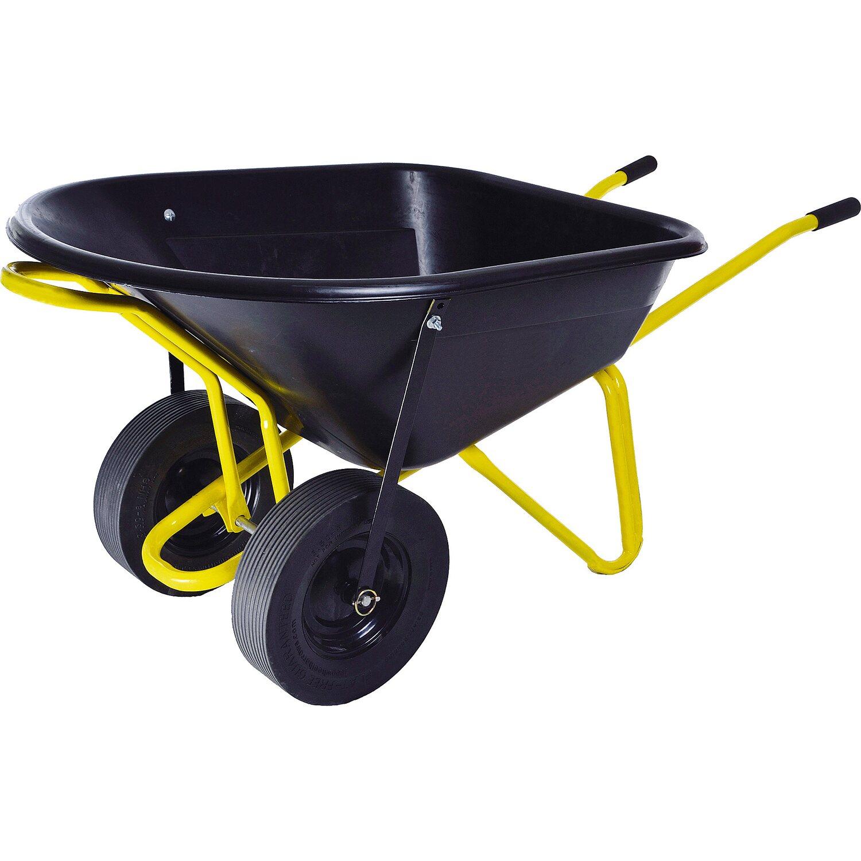 pro bau tec Garten- & Bauschubkarre 160 l 220 kg Tragkraft