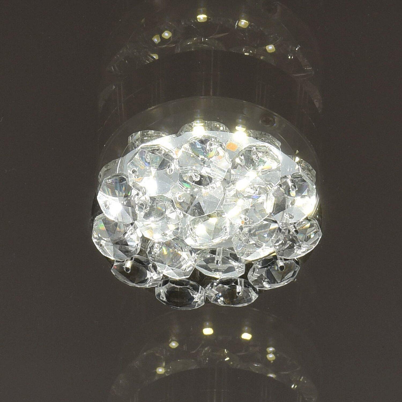 LED-Deckenleuchte Graffiti 9-flammig 27 W Chrom EEK: A-A++ kaufen ...