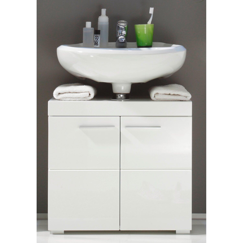 Waschbeckenunterschrank Amanda 12 cm Weiß kaufen bei OBI