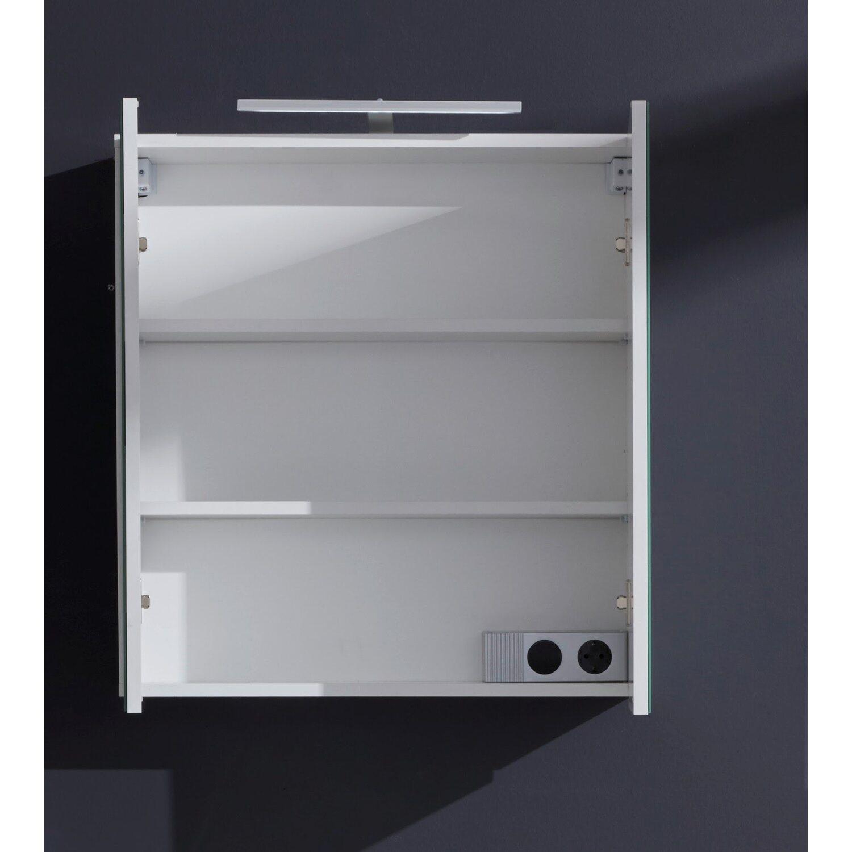spiegelschrank enjoy 65 cm wei kaufen bei obi. Black Bedroom Furniture Sets. Home Design Ideas