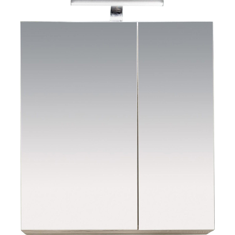 Spiegelschrank Porto 65 cm Eiche Sägerau