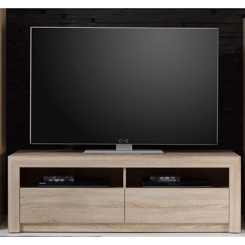 tv lowboard sevilla 140 cm x 46 cm x 48 cm eiche sonoma. Black Bedroom Furniture Sets. Home Design Ideas