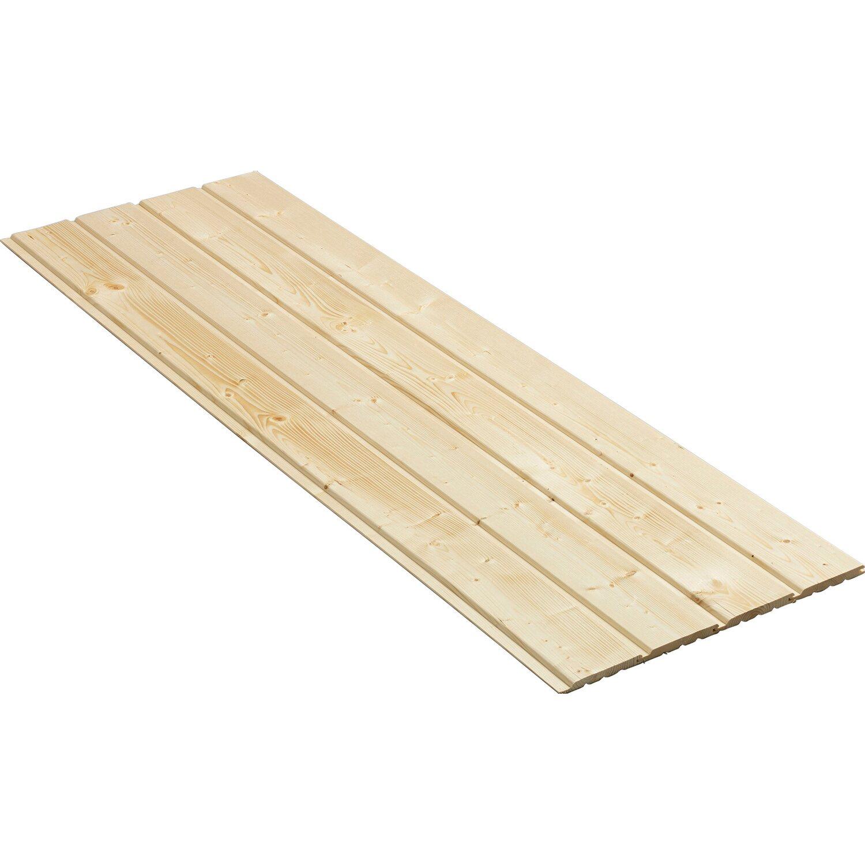 profilholz softline 14 mm x 121 mm x 2000 mm kaufen bei obi. Black Bedroom Furniture Sets. Home Design Ideas