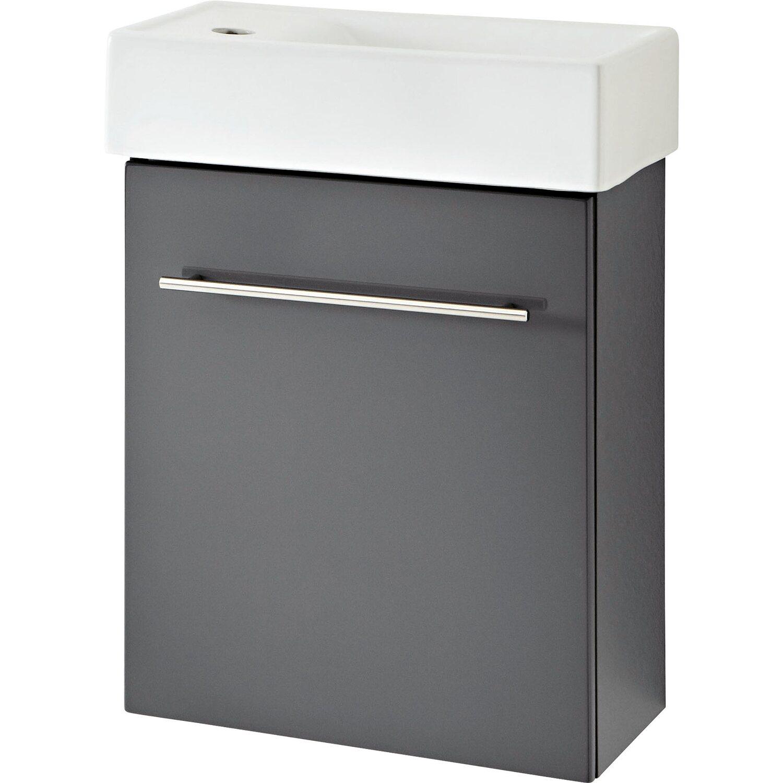 OBI Waschplatz Resia Grau 2-teilig kaufen bei OBI
