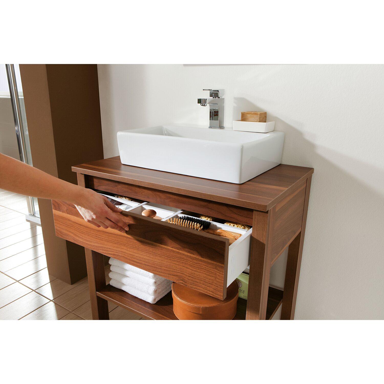 OBI Waschbeckenunterschrank Avio Nussbaum-Nachbildung kaufen bei OBI