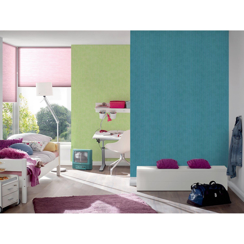 esprit vliestapete uni blau kaufen bei obi. Black Bedroom Furniture Sets. Home Design Ideas