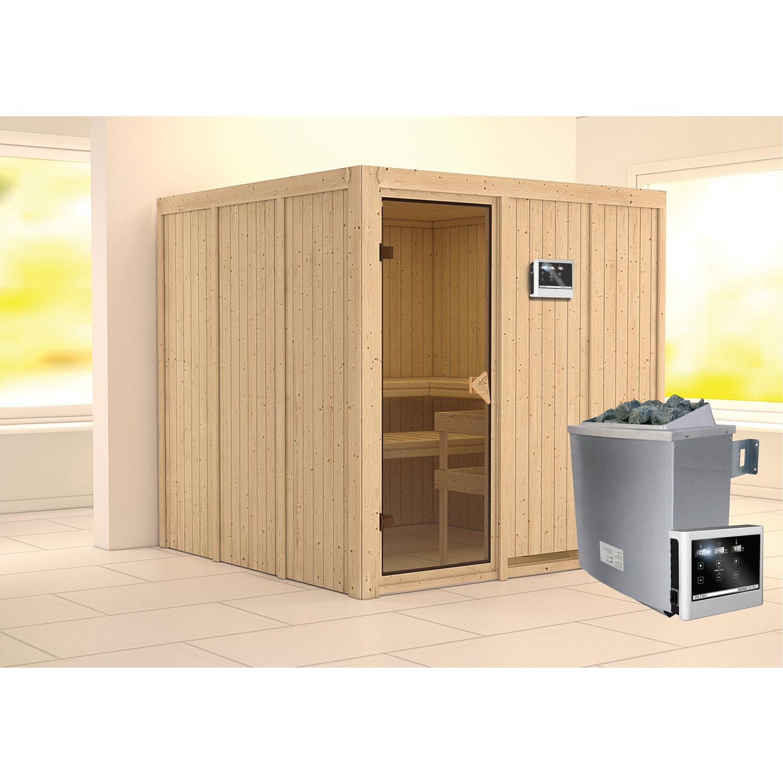 karibu sauna rokko ofen mit exte strg bluetooth lautsprecher zubeh r bronze kaufen bei obi. Black Bedroom Furniture Sets. Home Design Ideas