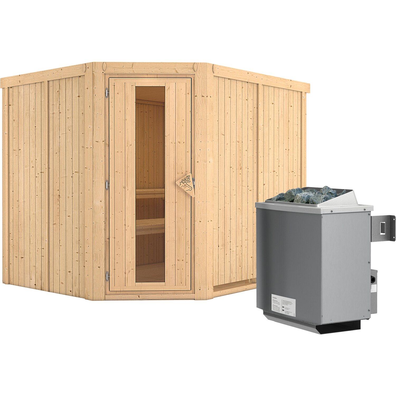 karibu sauna luna holzt r ofen mit eing strg bluetooth lautspr zubeh r kaufen bei obi. Black Bedroom Furniture Sets. Home Design Ideas