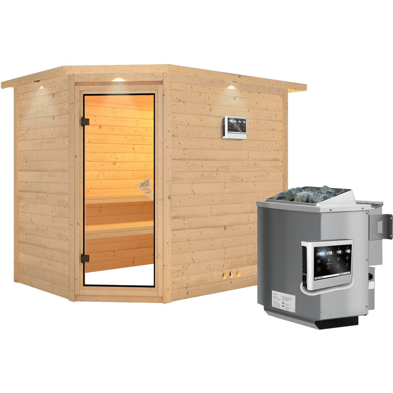 karibu sauna tanami bio ofen mit ext strg bluetooth lautsprecher zubeh r kaufen bei obi. Black Bedroom Furniture Sets. Home Design Ideas