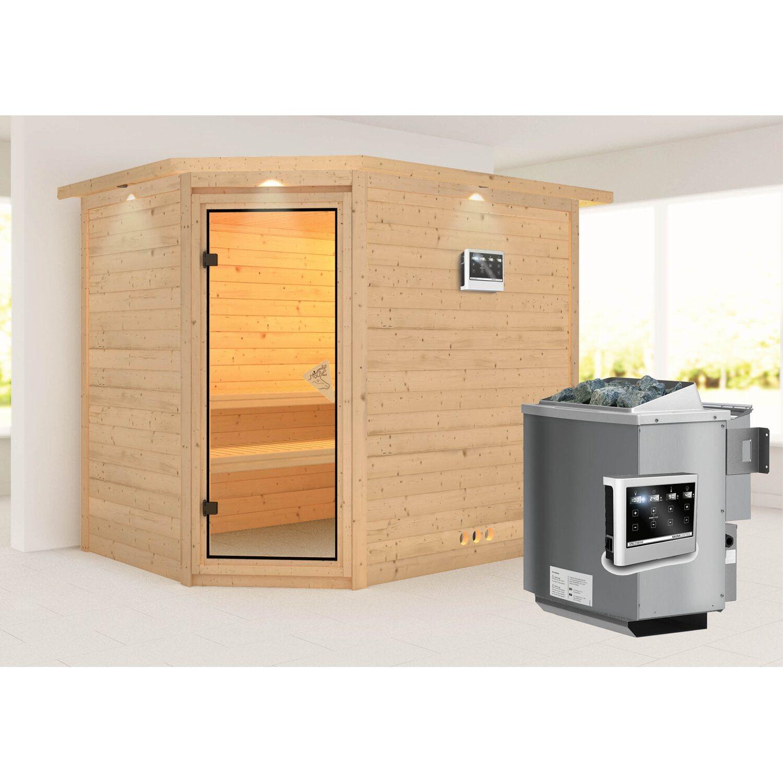 karibu sauna tanami bio ofen ext strg lautsprecher zubeh r kaufen bei obi. Black Bedroom Furniture Sets. Home Design Ideas