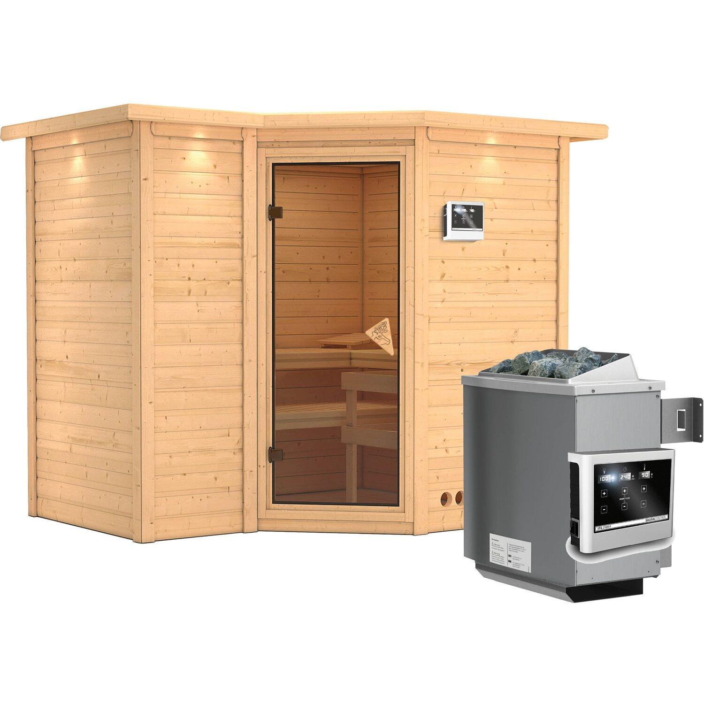 karibu sauna lina ofen mit ext strg bluetooth lautsprecher zubeh r bronze kaufen bei obi. Black Bedroom Furniture Sets. Home Design Ideas