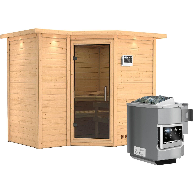 karibu sauna lina bio ofen mit ext strg bluetooth lautspr zubeh r graphit. Black Bedroom Furniture Sets. Home Design Ideas