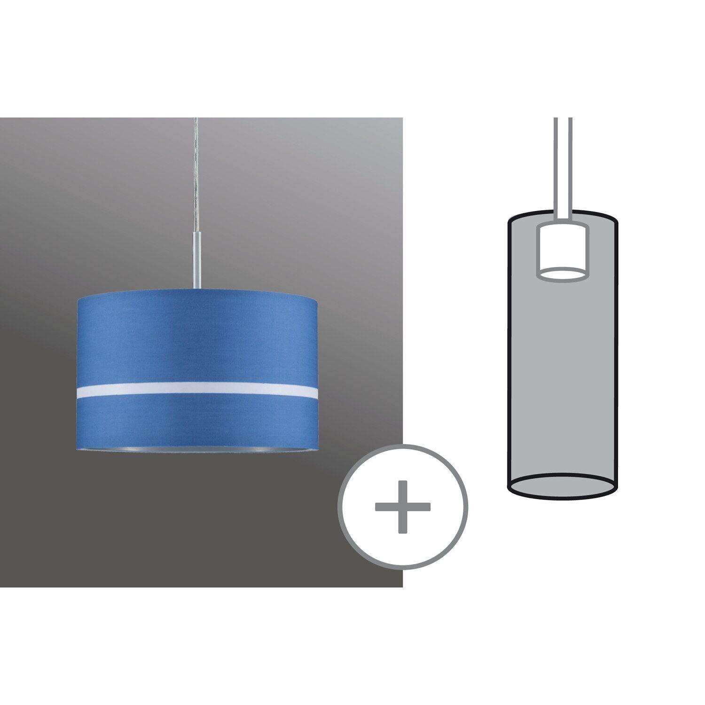 Paulmann URail Lampenschirm DecoSystems Tessa Ø 25,5 cm Blau kaufen ...