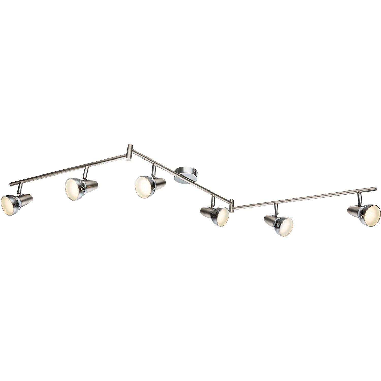 Globo LED-Spot CAPPUCCINO Chrom Nickel matt EEK: A | Lampen | Metall | Globo