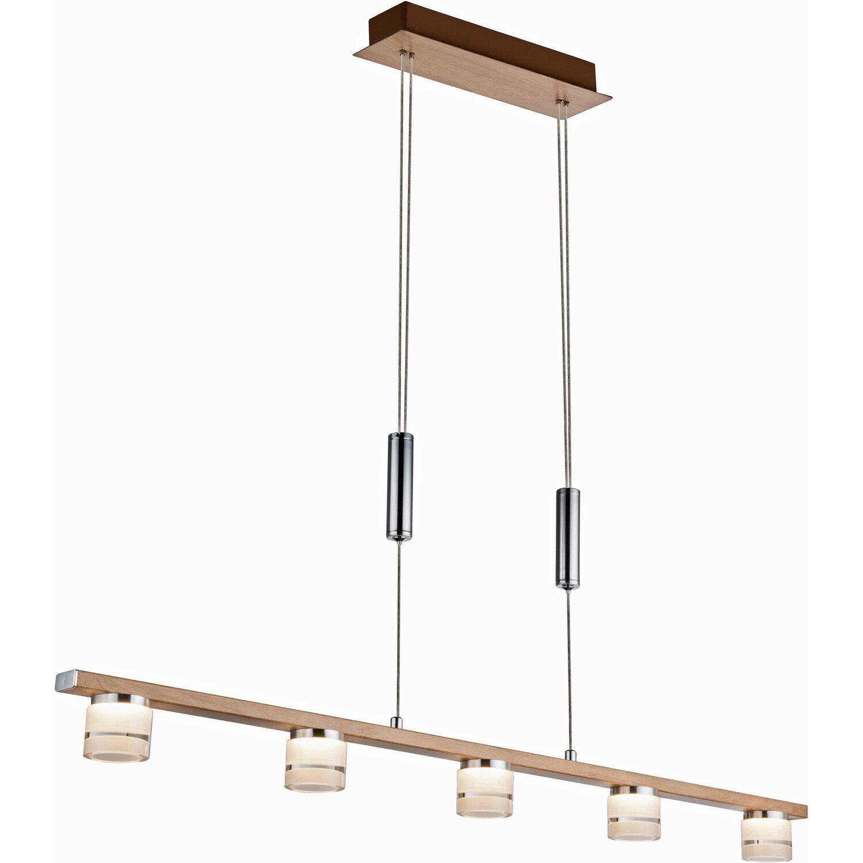 globo led pendelleuchte alonis holz braun eek a kaufen. Black Bedroom Furniture Sets. Home Design Ideas