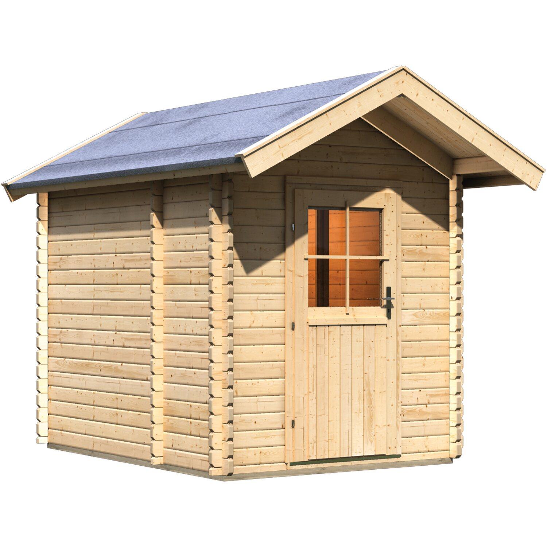 karibu saunahaus 0 mit vorraum kaufen bei obi. Black Bedroom Furniture Sets. Home Design Ideas