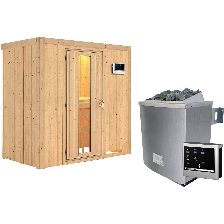 karibu sauna variado mit energiespart r ofen und steuerung froteinstieg kaufen bei obi. Black Bedroom Furniture Sets. Home Design Ideas
