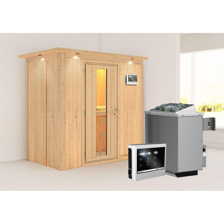 karibu sauna variado mit energiespart r ofen steuerung froteinst led spots kaufen bei obi. Black Bedroom Furniture Sets. Home Design Ideas