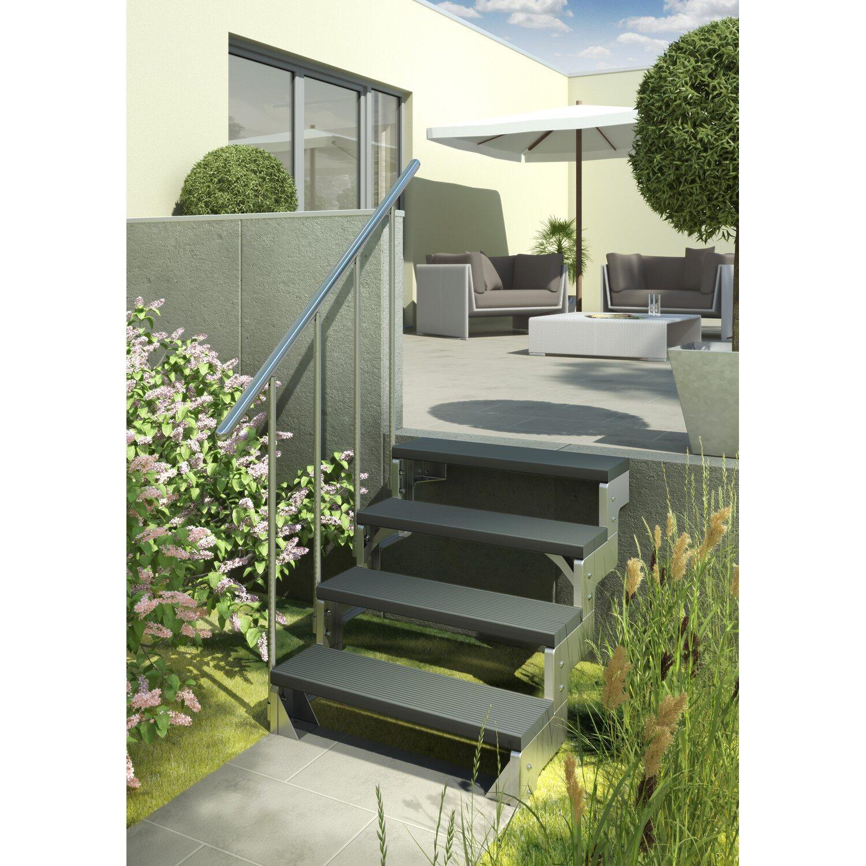 dolle au entreppe gardentop startset 1 f r zwei stufen kaufen bei obi. Black Bedroom Furniture Sets. Home Design Ideas
