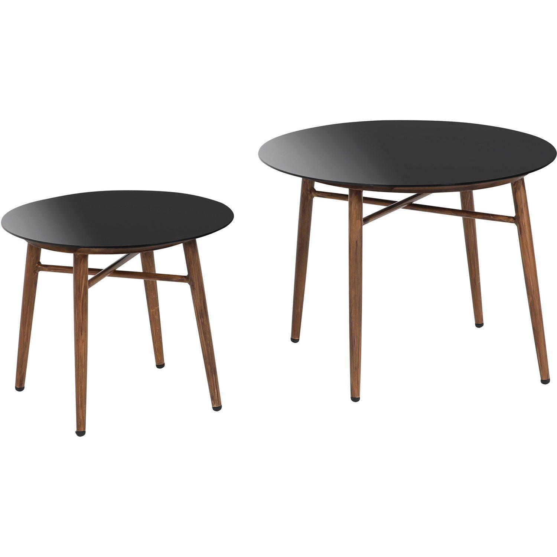 Greemotion Glastisch-Set Gomera | Wohnzimmer > Tische > Glastische | Greemotion