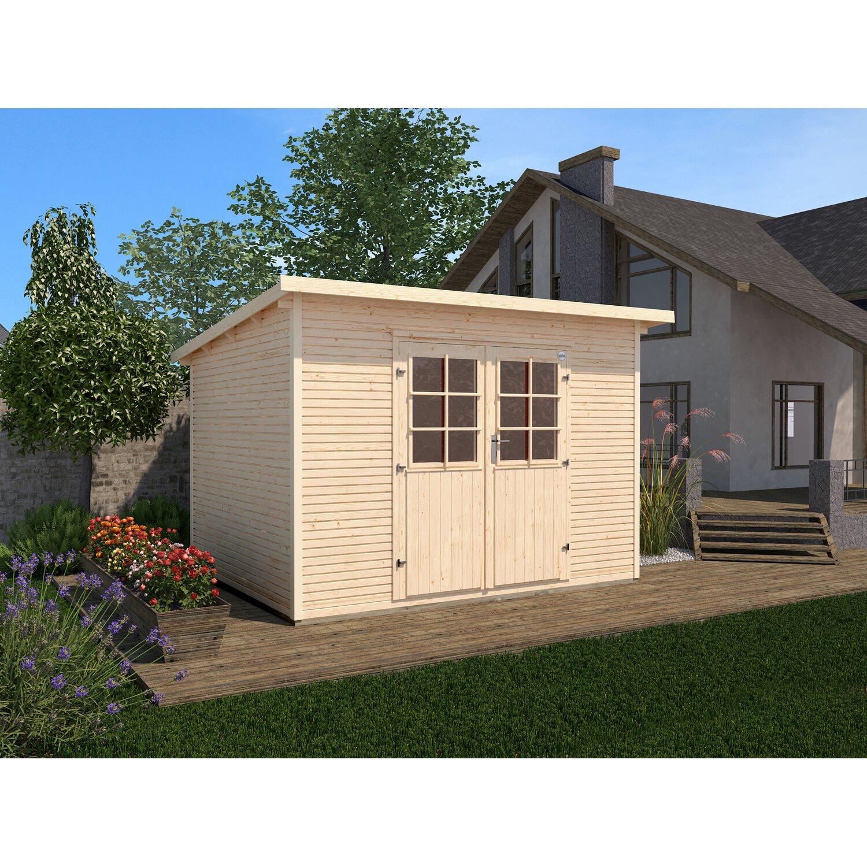 weka holz gartenhaus 219 a b x t 235 cm x 240 cm kaufen bei obi. Black Bedroom Furniture Sets. Home Design Ideas