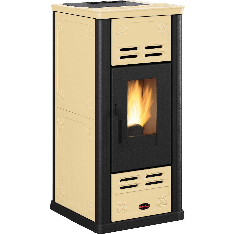 extraflame pelletofen serafina kachel pergamena 2 4 kw 7 1 kw eek a kaufen bei obi. Black Bedroom Furniture Sets. Home Design Ideas