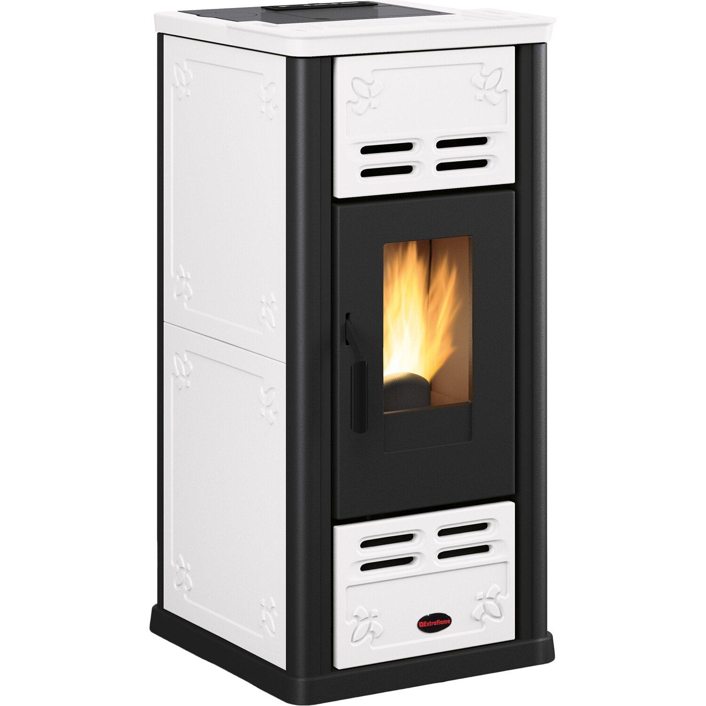 firefix pelletofen serafina kachel wei 2 4 kw 7 1 kw eek a kaufen bei obi. Black Bedroom Furniture Sets. Home Design Ideas