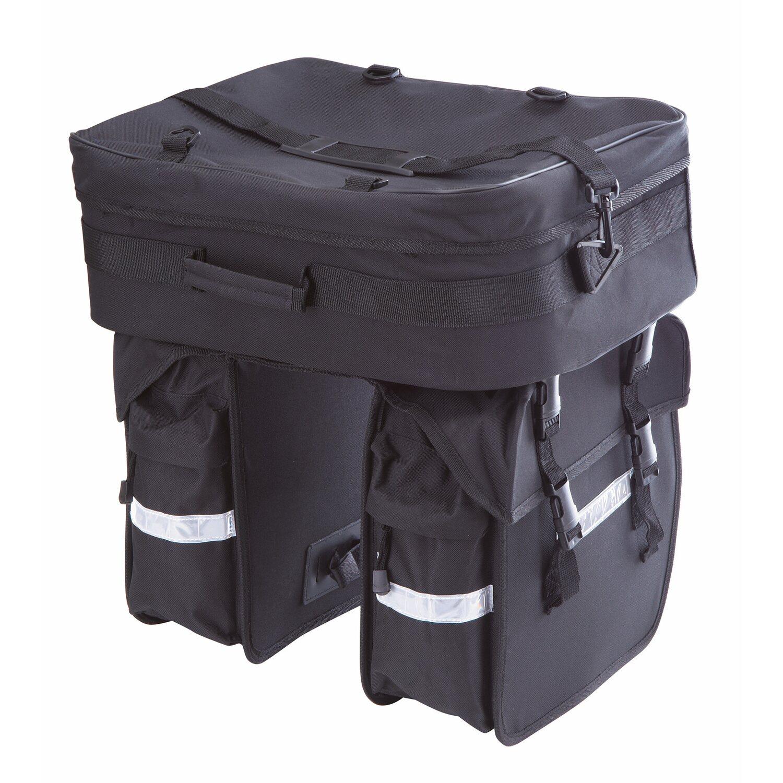 bike dreifach fahrrad packtasche kaufen bei obi. Black Bedroom Furniture Sets. Home Design Ideas