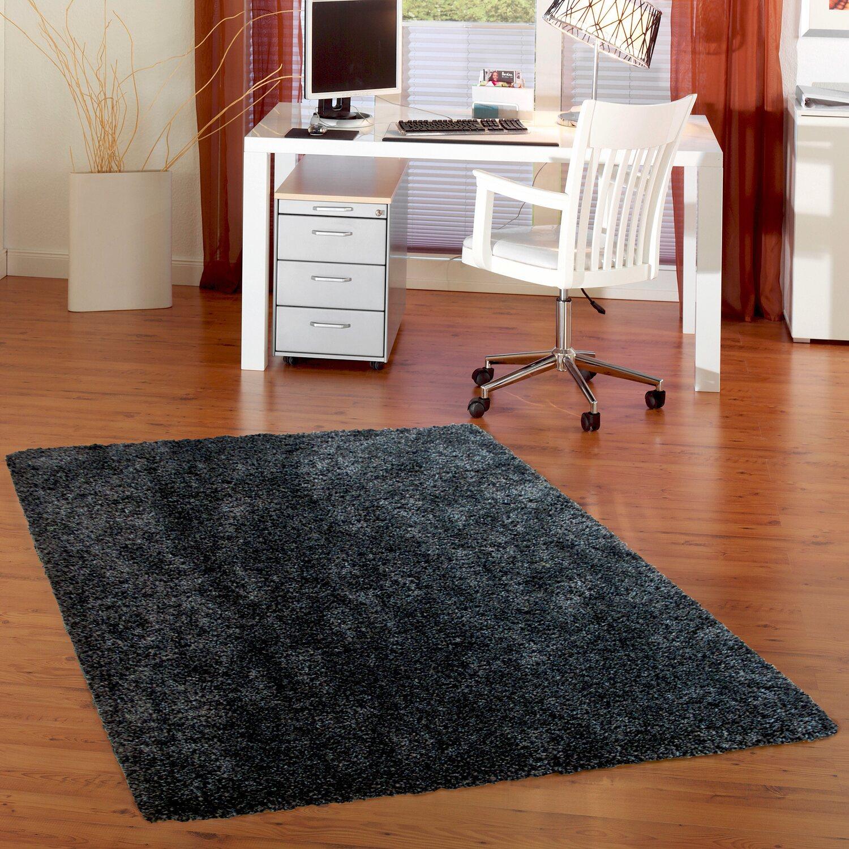 obi teppich oviedo anthrazit 140 cm x 200 cm kaufen bei obi. Black Bedroom Furniture Sets. Home Design Ideas