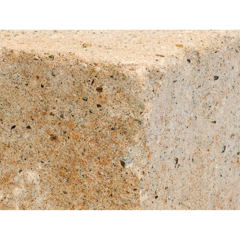 Trockenmauer Siola leicht Sandstein-Optik 35 cm x 16,5 cm