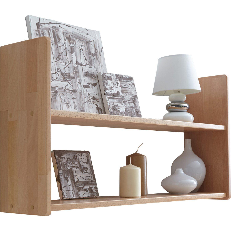 wandregal buche natur 2 b den 90 cm kaufen bei obi. Black Bedroom Furniture Sets. Home Design Ideas