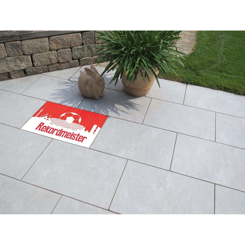 Terrassenplatte Fussball Munchen 60 Cm X 40 Cm X 4 Cm Kaufen Bei Obi