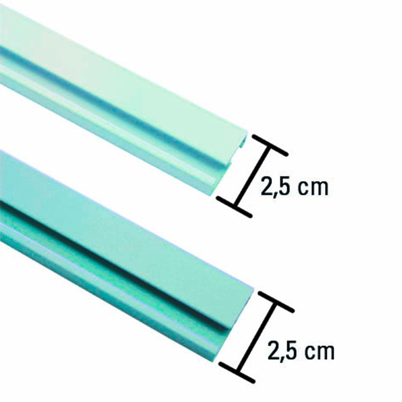 Gardinia Aluminium Vorhangschiene 1 Läufig Weiß 150 Cm Kaufen Bei Obi